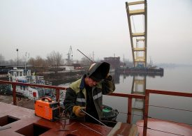 В Запорожье компания «Onur» продолжает строительство мостов (фото, видео)