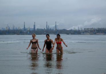 Крещение-2019 в Запорожье (фото, видео)