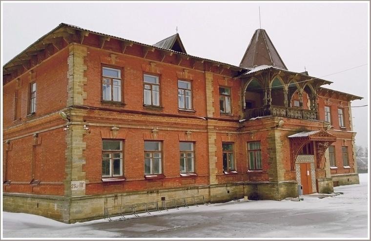 Дача Миклашевского в запорожском селе Беленькое: проект архитектора Гагена