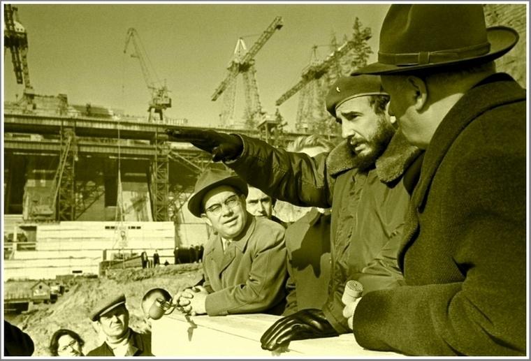Как Фидель Кастро измерял рост запорожца