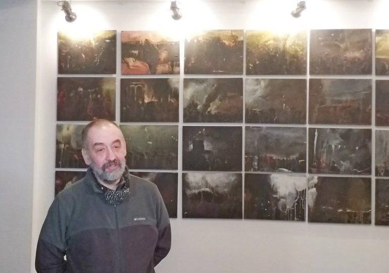 У Запоріжжі демонструється «Стіна» Матвія Вайсберга – пекельна краса досконалого світу