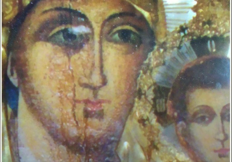В Запорожской области в сельском храме плачет Божия Матерь