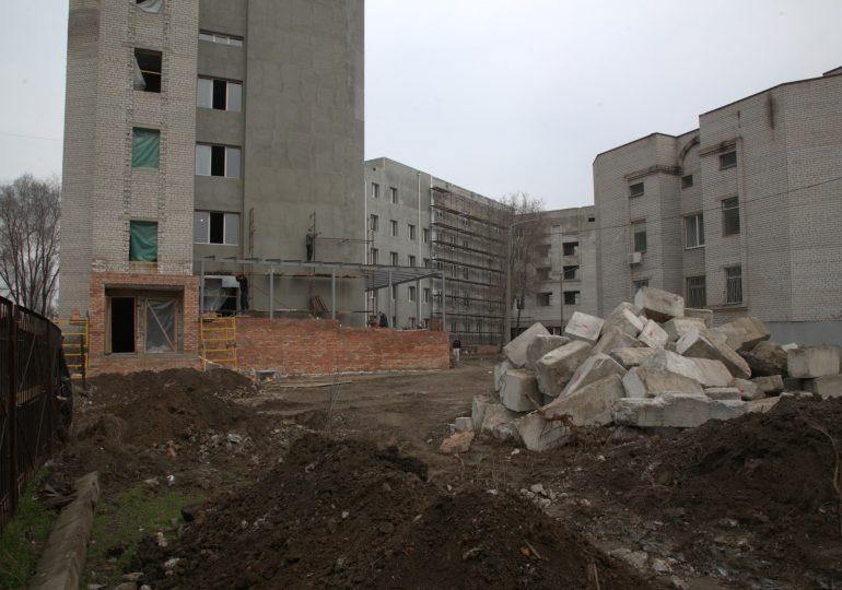 Что будет в здании недостроенного первого роддома в Запорожье?