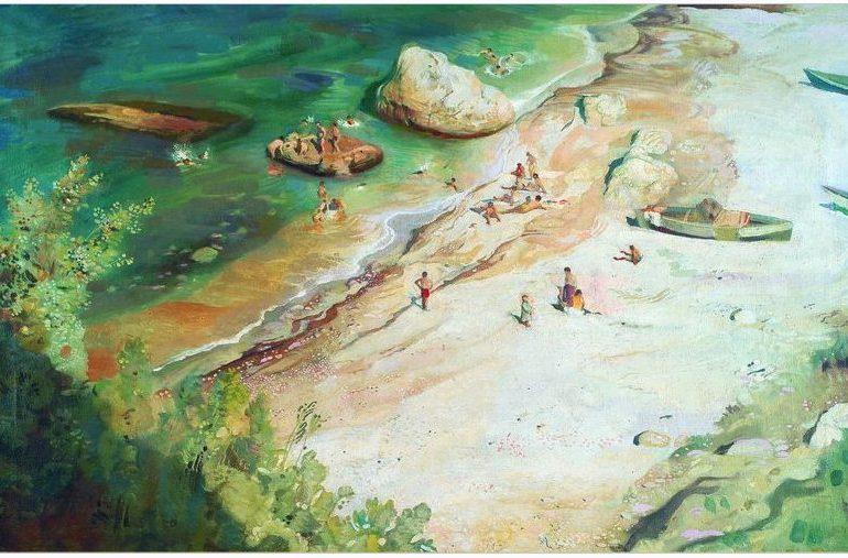 Берег Азовского моря в Запорожской области любимого ученика Ильи Репина