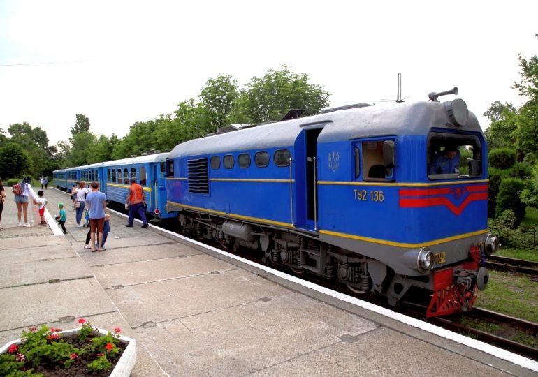 Как с пользой отдохнуть на Запорожской детской железной дороге