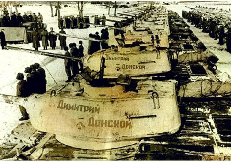 Последний бой танкиста Гавриила Кривоспицкого