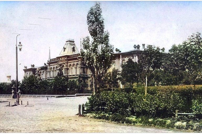 Запорожье на старых открытках: женская гимназия, 1916 год