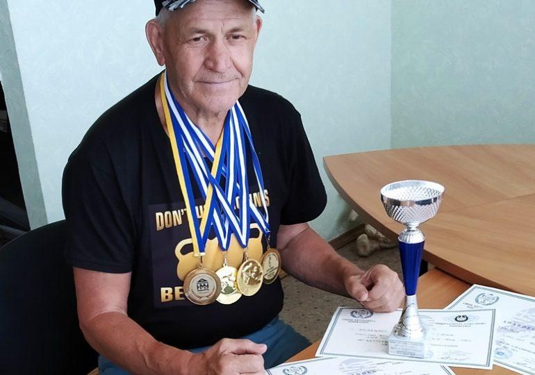 В запорожской глубинке живет самый титулованный спортсмен мира