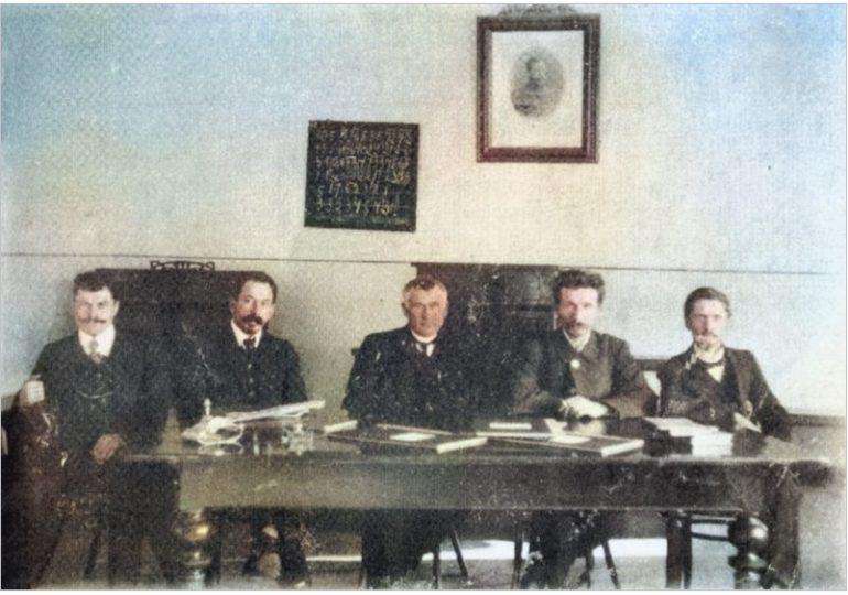 Отыскался директор школы, построенной на Запорожье меннонитами в 1906 году