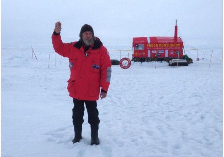 Путешественника из Приазовья, которому запрещен въезд в Украину, высадили на лед на Северном полюсе