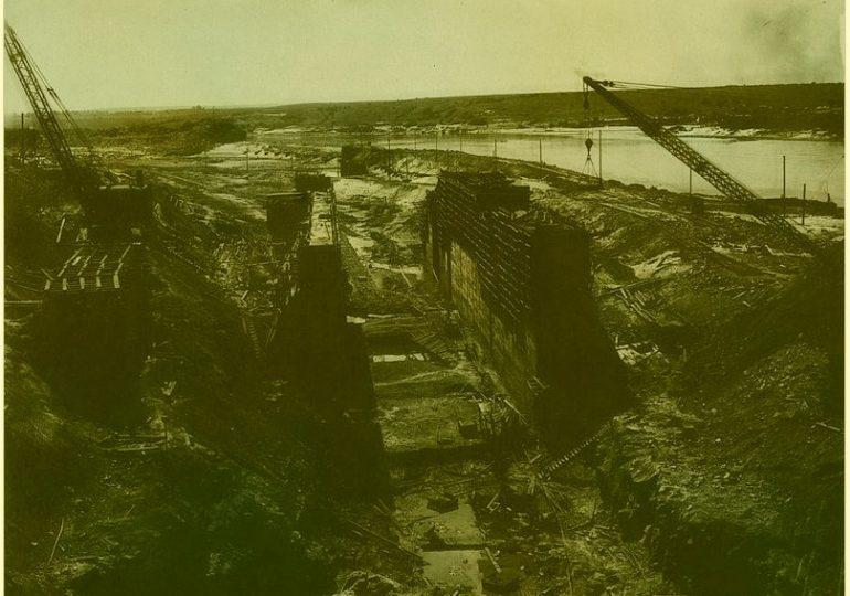Днепрострой: фото из московских архивов, часть 3-я