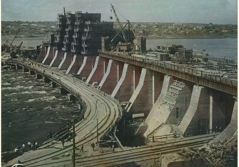 Днепрострой: фото из московских архивов, часть 2-я