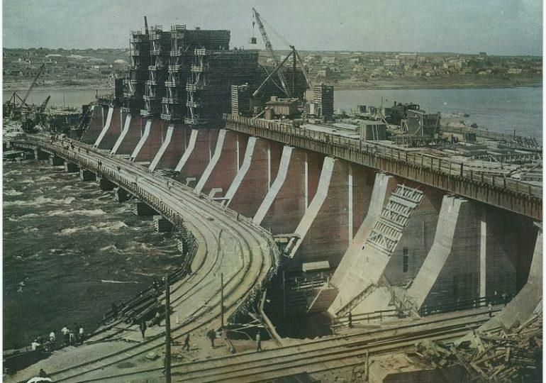 Днепрострой: фото из московских архивов, часть 4-я