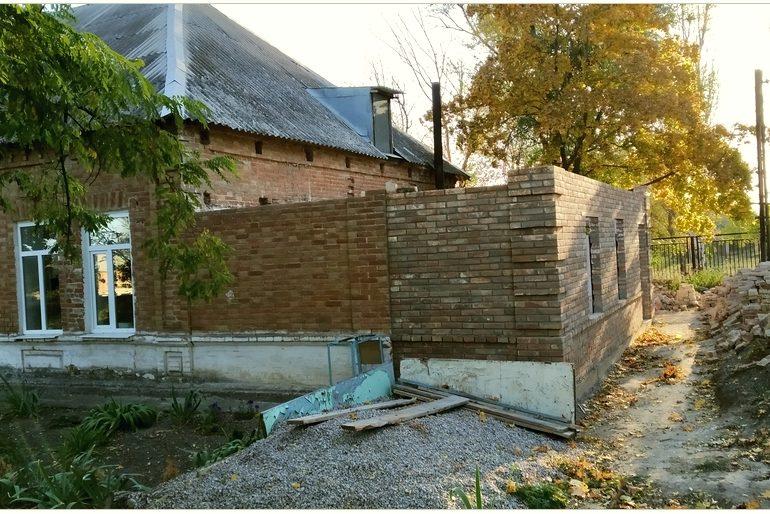 В Запорожской области началась перестройка в графской школе